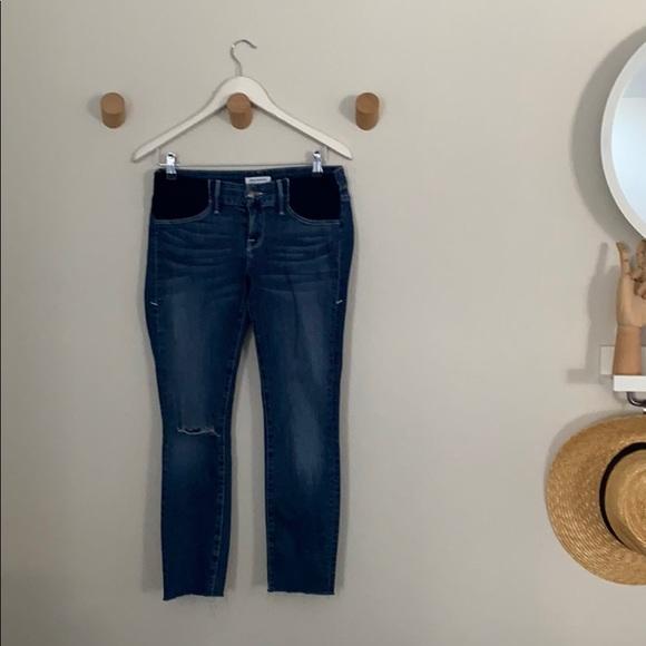 Good American Denim - Good American maternity cropped jeans